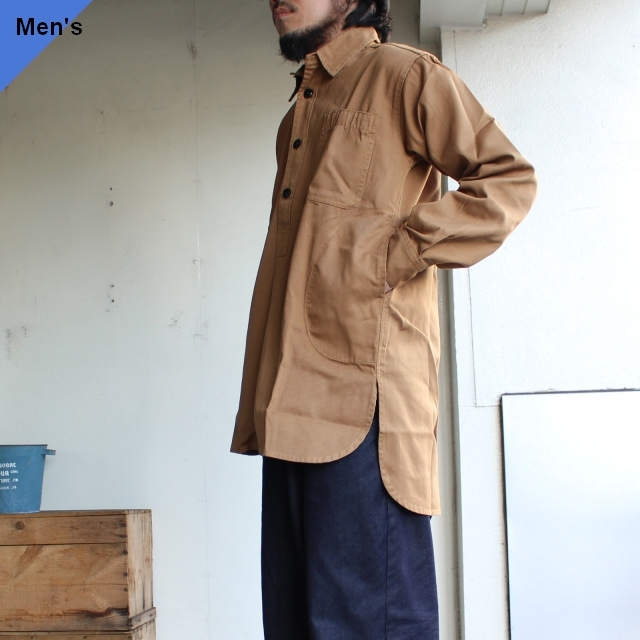 Yarmouth Oilskins ワーカーシャツ The Worker Shirt カーキブラウン