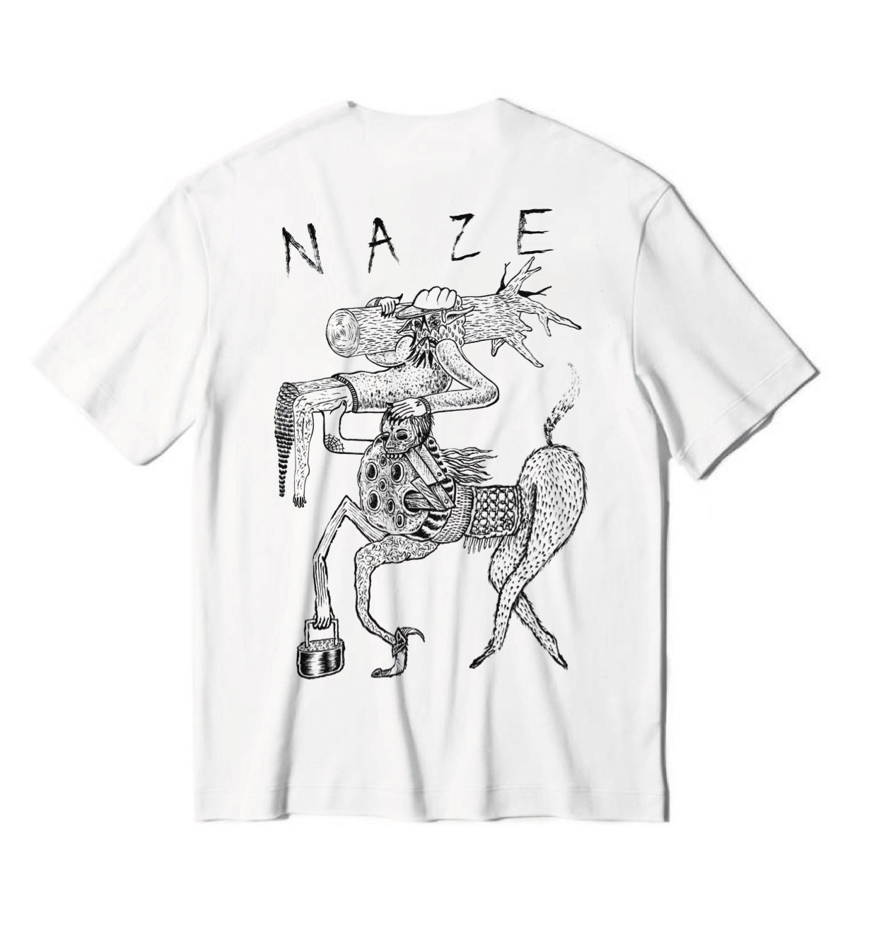 NAZE × A.N.D. W NAME S/S T SHIRTS
