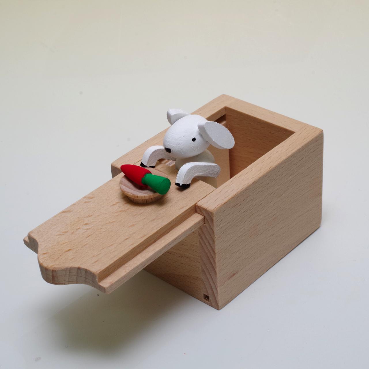 十二支のからくりボックス ウサギ