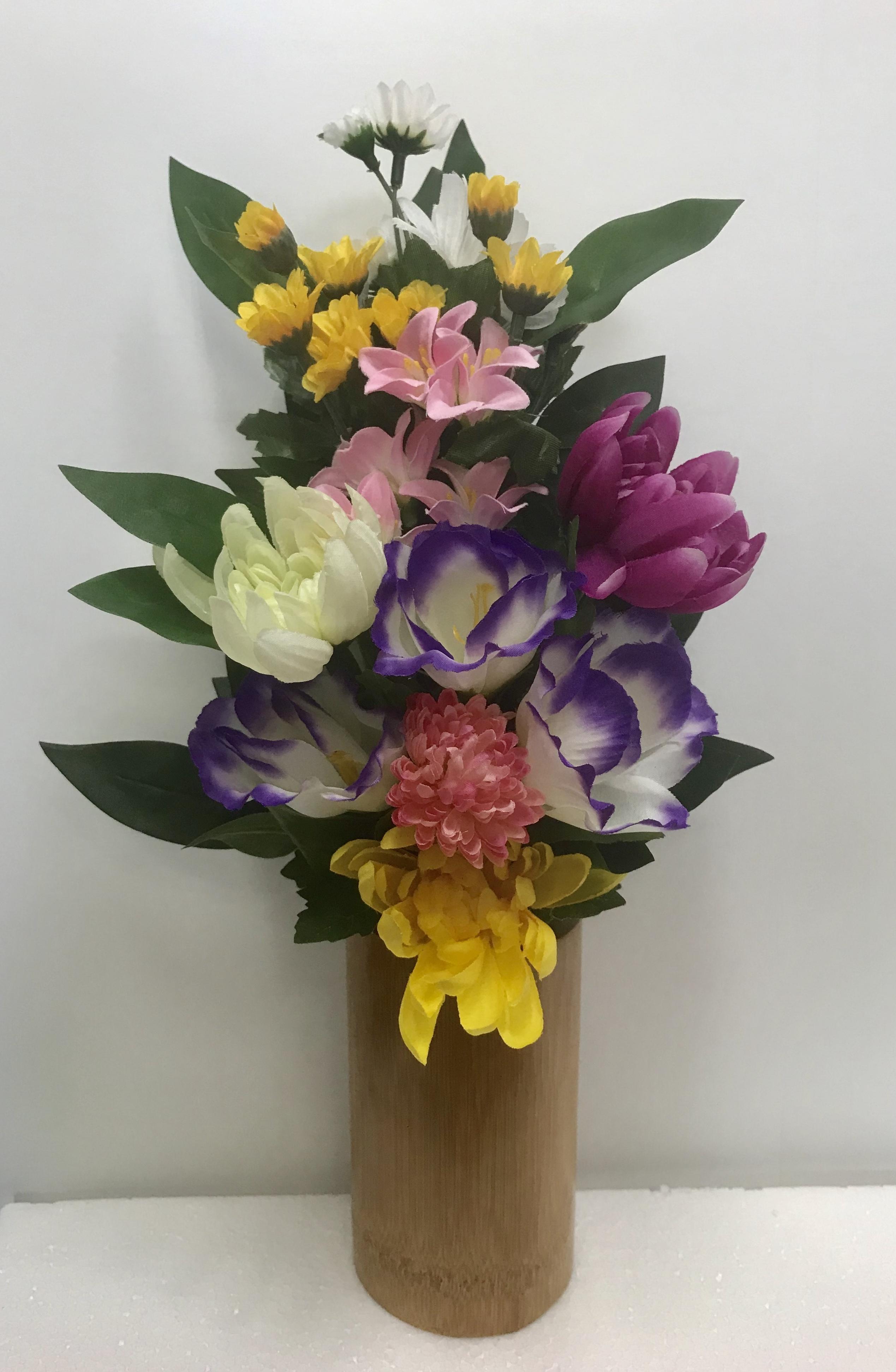 アーティフィシャルフラワー仏花(Lサイズ)