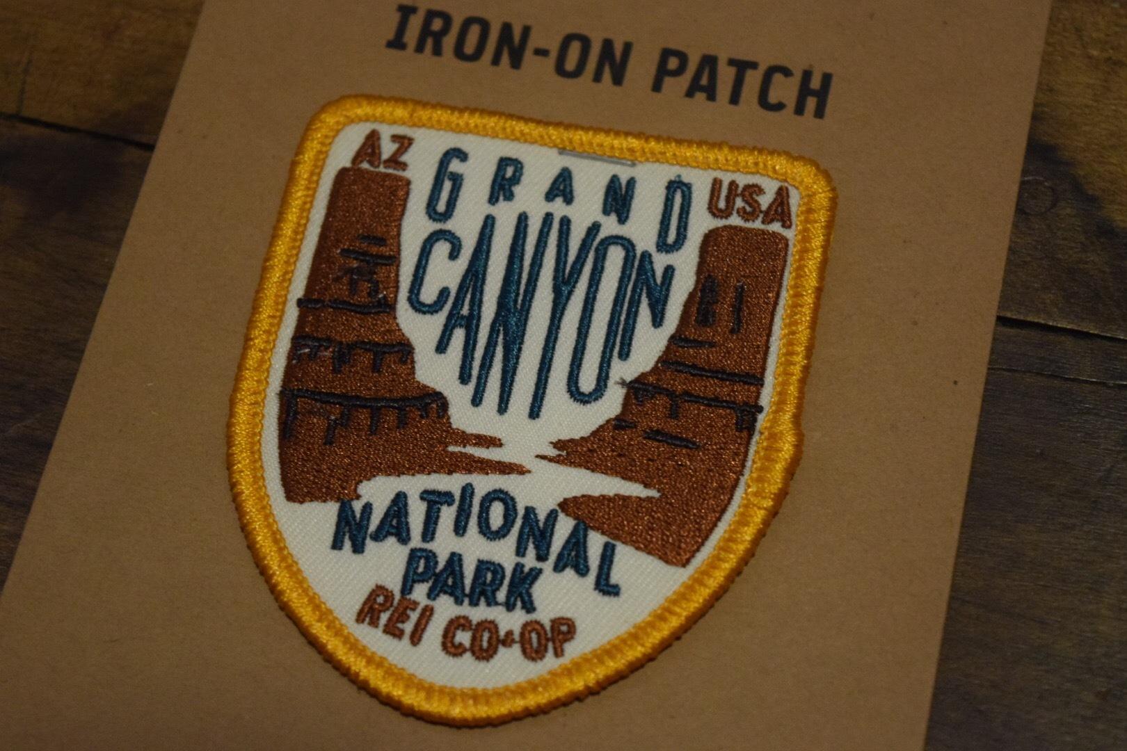 新品 REI  NPS パッチ ナショナルパークサービス グランドキャニオンナショナルパーク