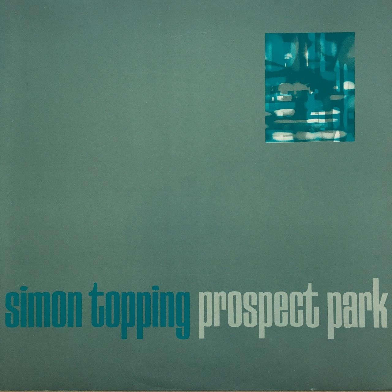 【12inch・ベルギー盤】Simon Topping / Prospect Park
