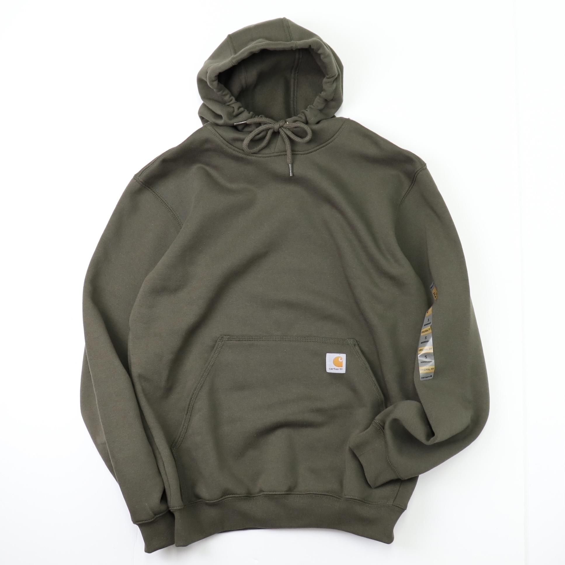 """ CARHARTT ""   Hoodie Sweatshirts   Green   カーハート フーディー ロゴスウェットパーカー グリーン USライン A682"