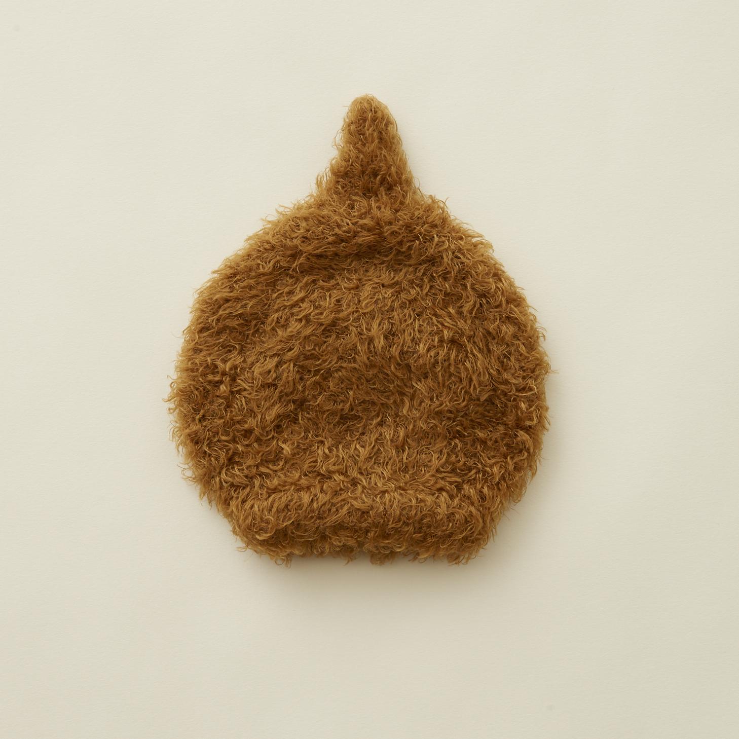 《eLfinFolk 2021AW》pygmy cap / brown