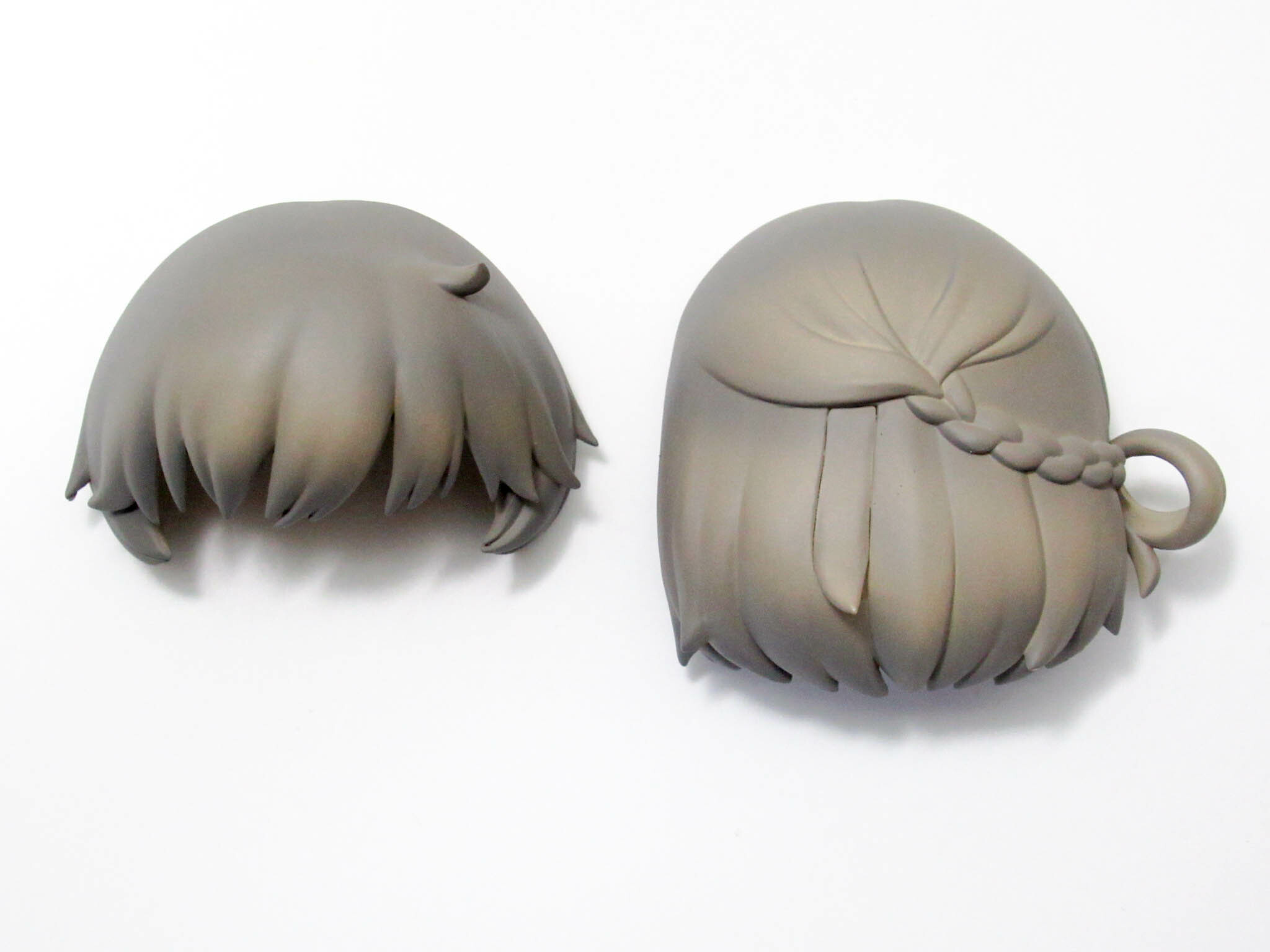 ※【SALE】【1096】 鳩羽つぐ 髪パーツ ショート ねんどろいど