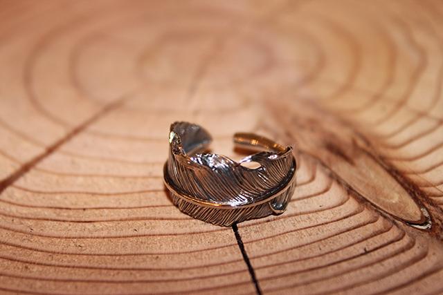 Designers Jewelry buff 千年フェザーリング(L2)
