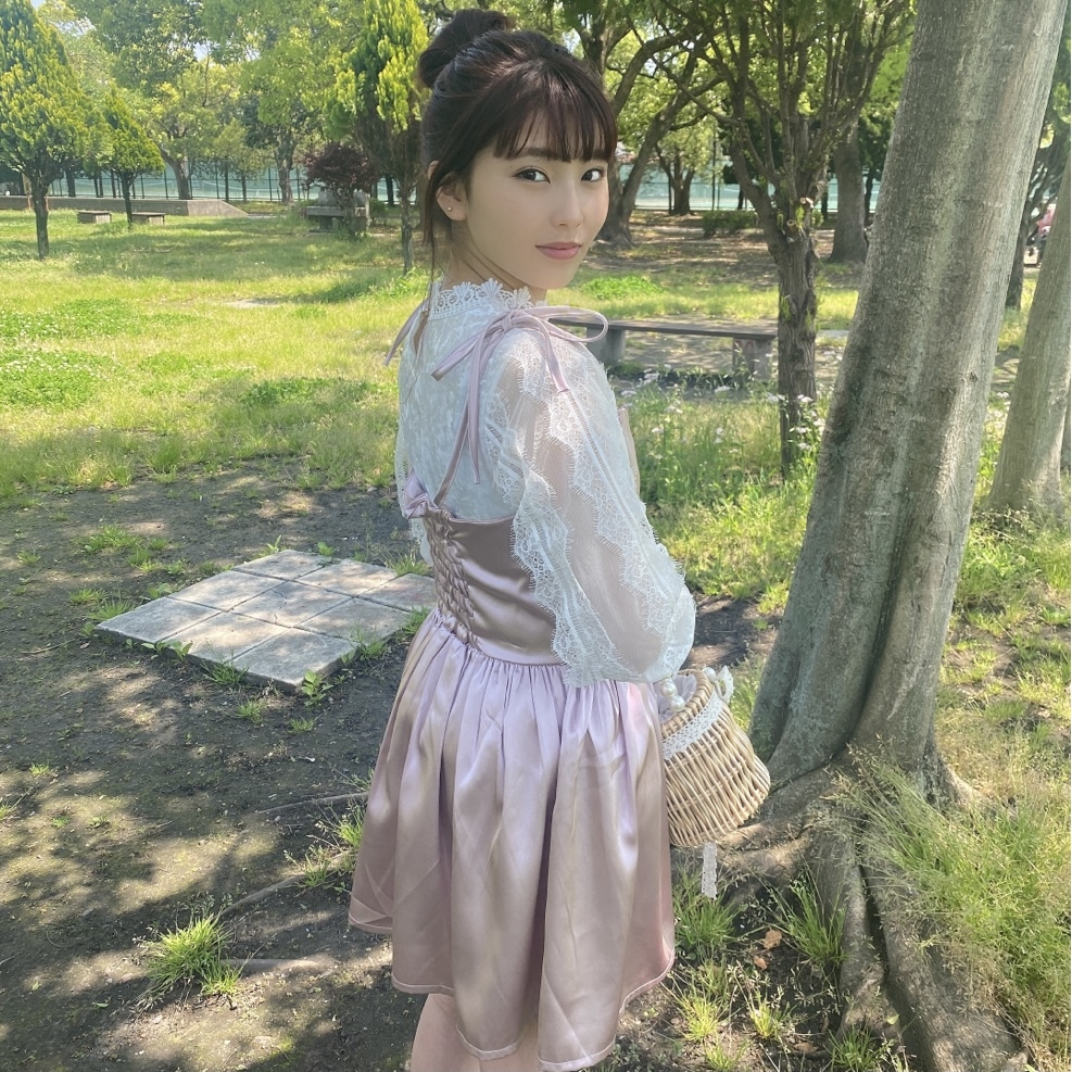 【original】princess cami onepiece(pink)