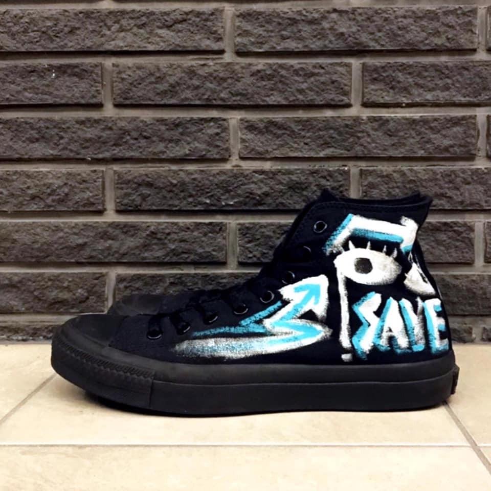 Art On Kicks / Converse Allstar【WER-003】