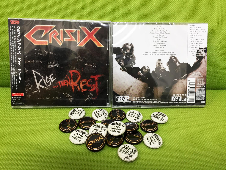 """【特典付き】CRISIX """"Rise...Then Rest"""""""