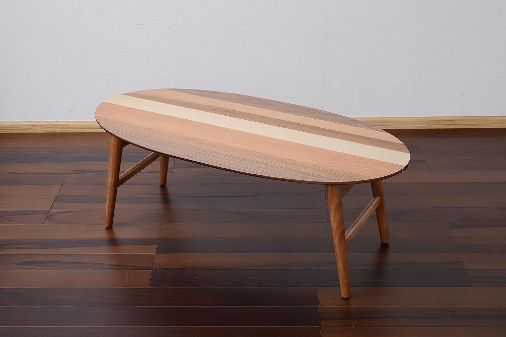 Oval / Nordic Low Table / 北欧ナチュラルスタイル オーバル 北欧 ローテーブル