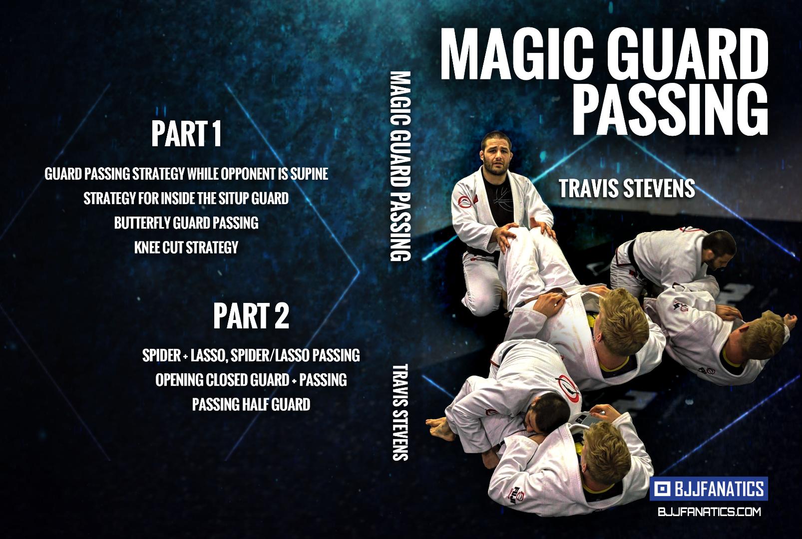 トラヴィス・スティーブンス  マジックパスガード  DVD2枚セット