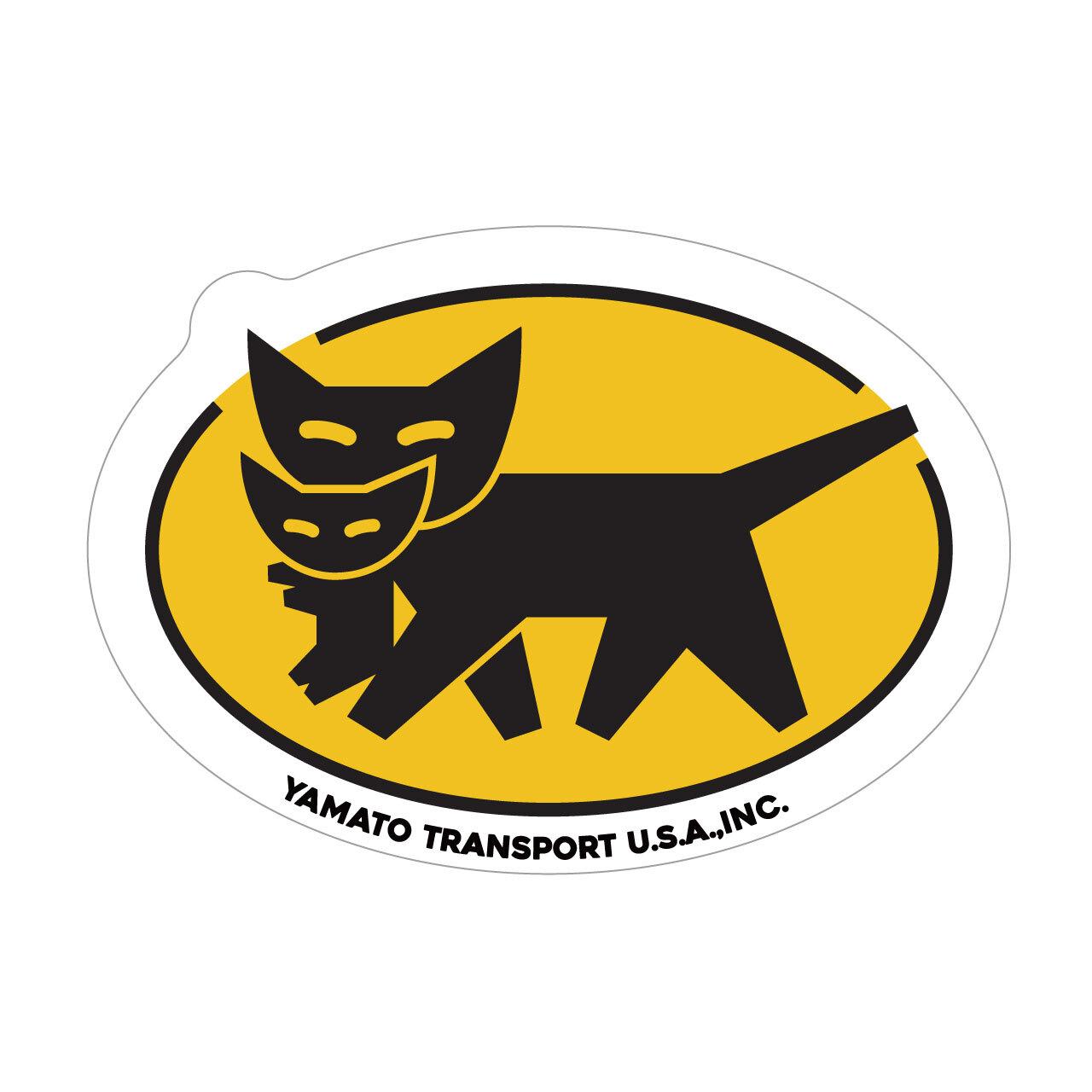 "333 YAMATO USA ヤマト ""California Market Center"" アメリカンステッカー スーツケース シール"