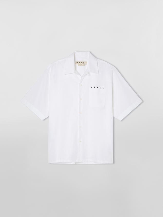 【MARNI】コットンボウリングシャツ