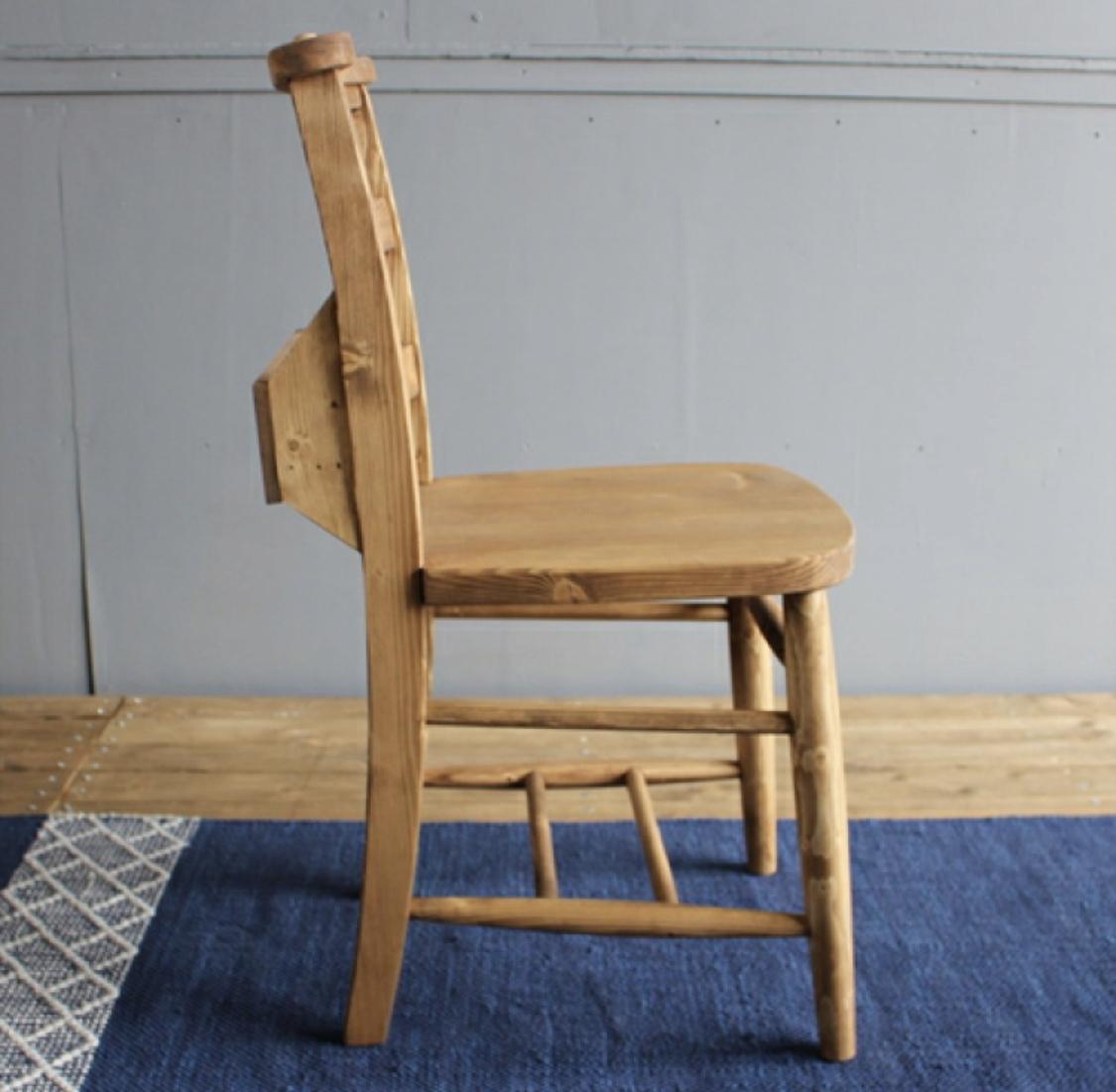 PINE Dining Chair /2Chair Set / カントリースタイル