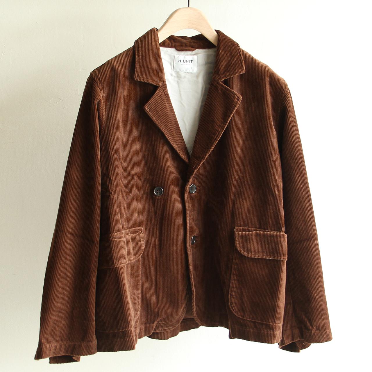 H.UNIT【 mens 】corduroy easy jacket