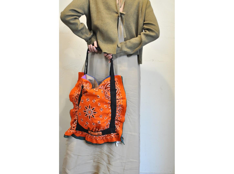 【RehersalL】bandanna bag(49)/【リハーズオール】バンダナバッグ(49)