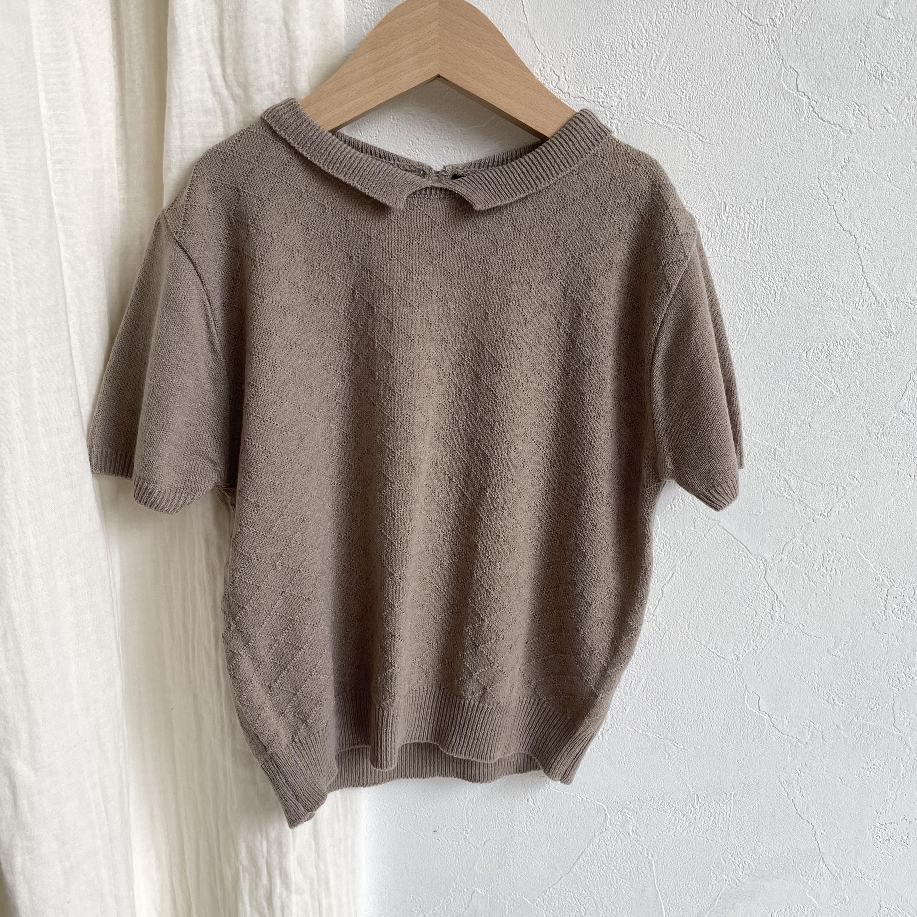 NO.1264 Gentle knit tops / Aosta