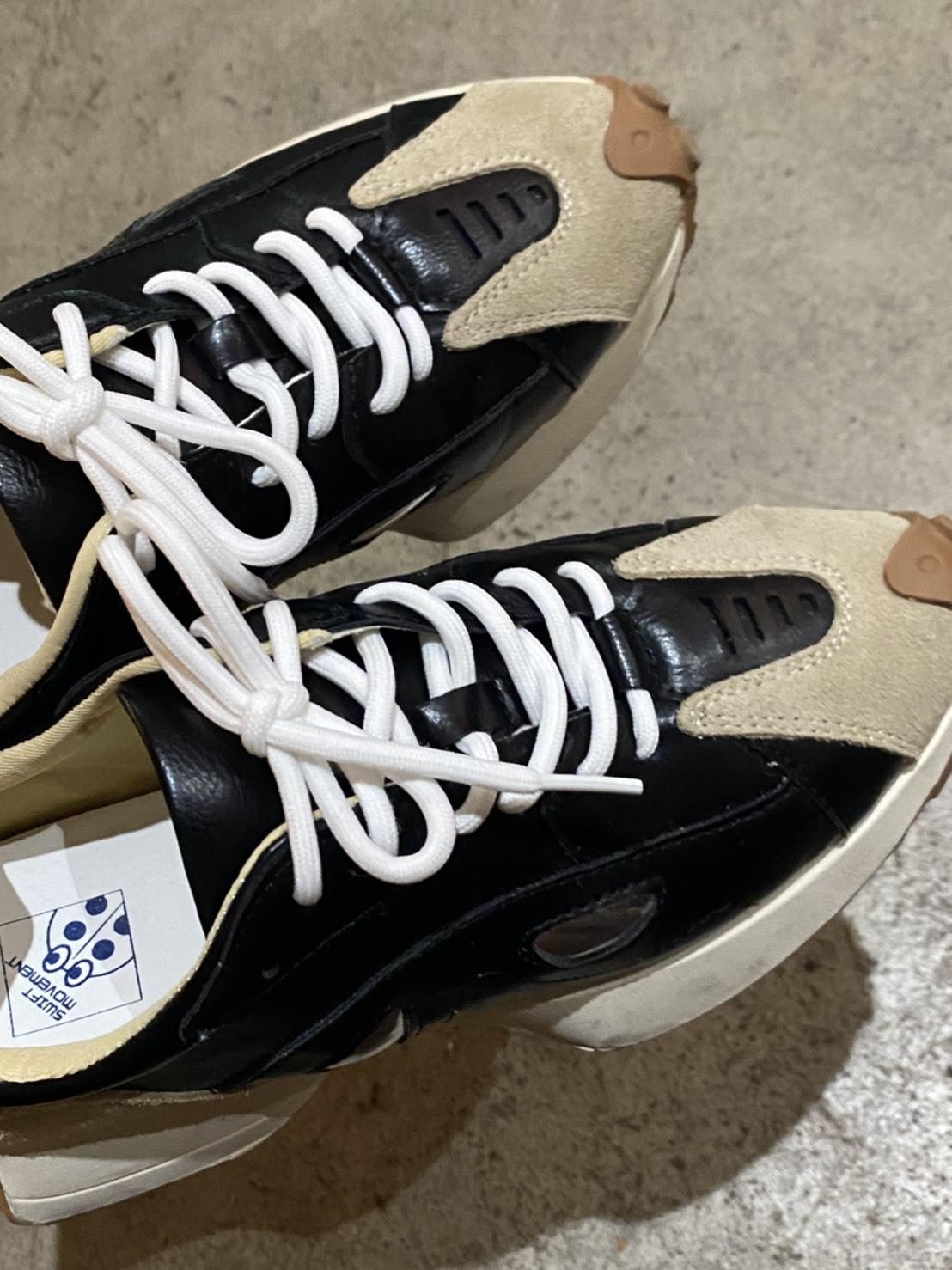 【6/30締】DAYNYC bi color sneakers