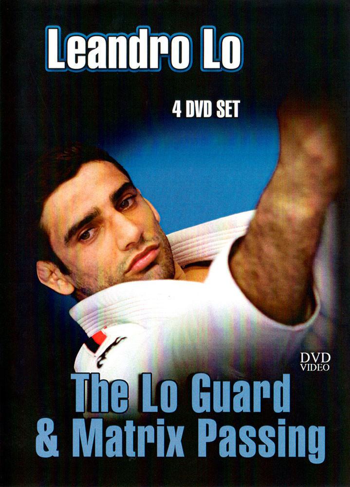 レアンドロ・ロ The Lo Guard & Matrix Passing 4枚組 【ブラジリアン柔術教則DVD 】