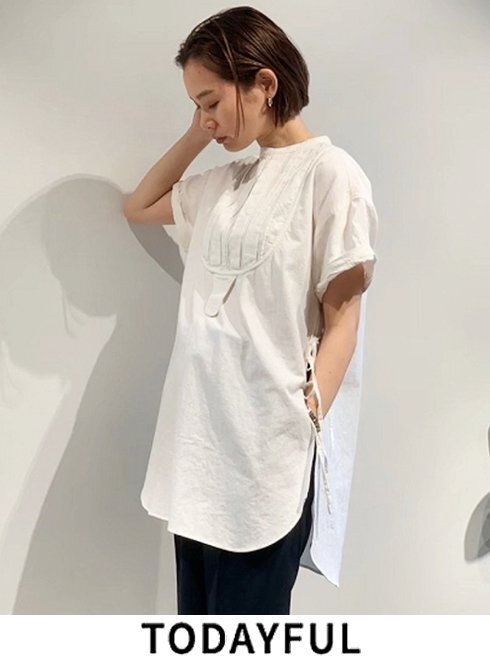 TODAYFUL (トゥデイフル) Halfsleeve Dress Shirts 【12010421】シャツ・ブラウス