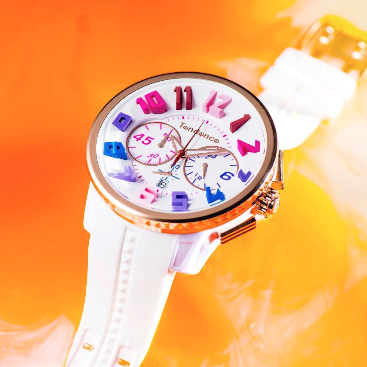 【Tendence テンデンス】TY460614 GULLIVER RAINBOW  ガリバーレインボー(ホワイト)/正規輸入品