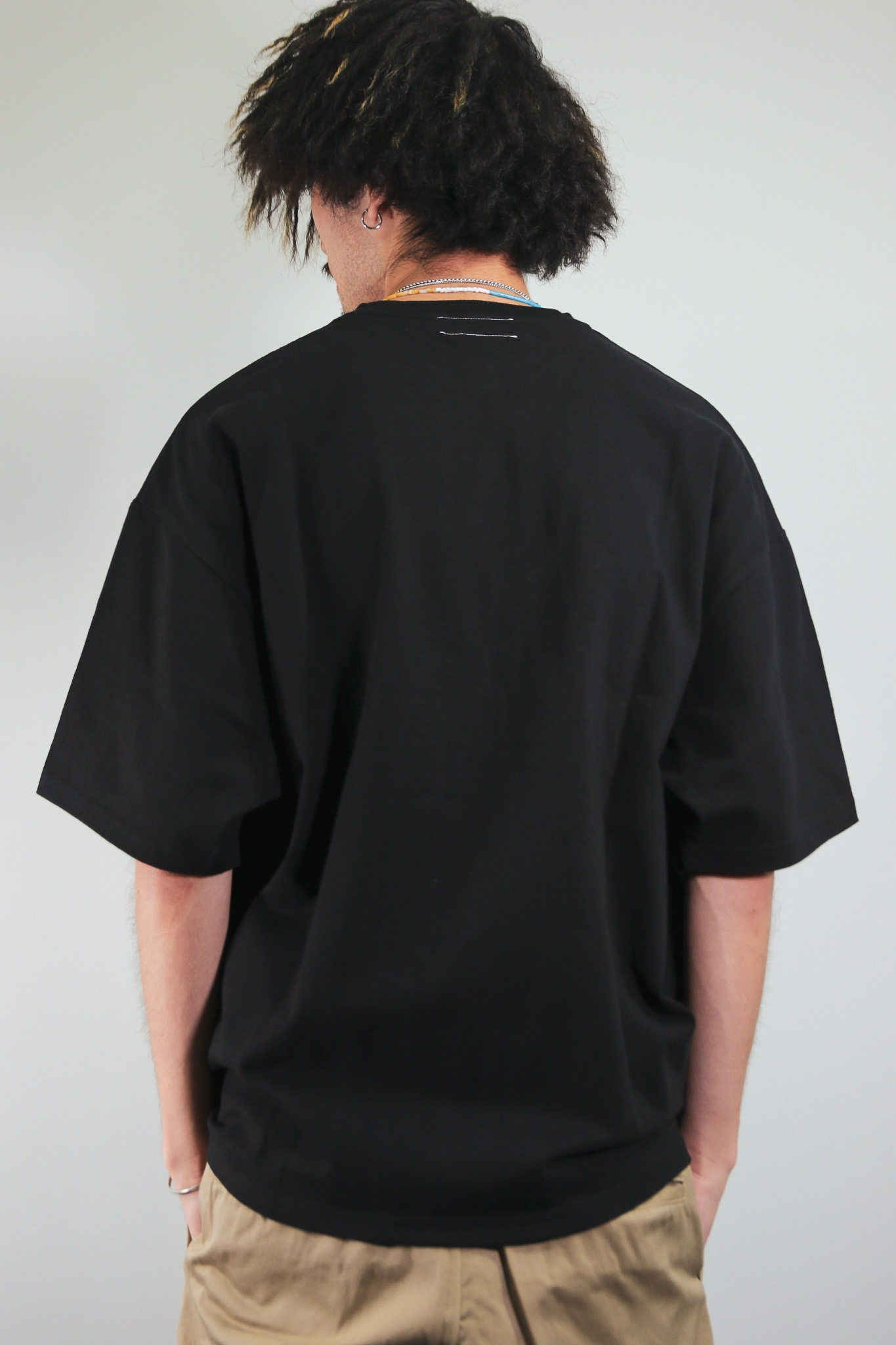 2POCKET OVERSIZE HEAVY TEE Kreso Tag Exclusive [BLACK]