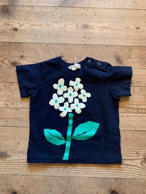 kids:nini アジサイTシャツ 80-140㎝
