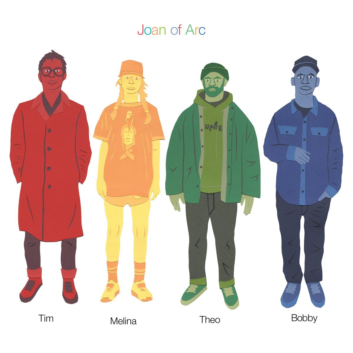 Joan Of Arc - Tim Melina Theo Bobby (CD)