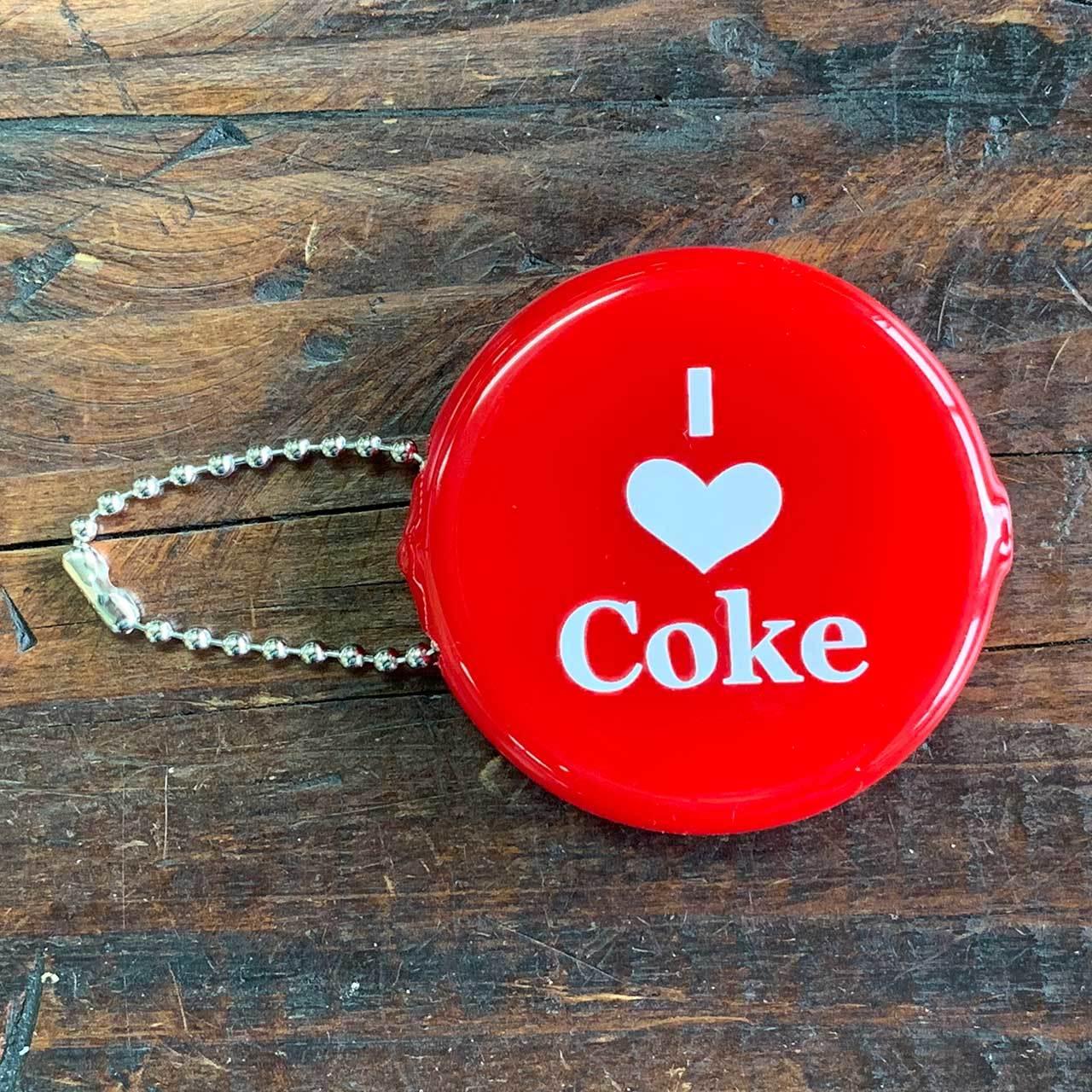 コカコーラ・コインケース・ラウンド・I LOVE COKE