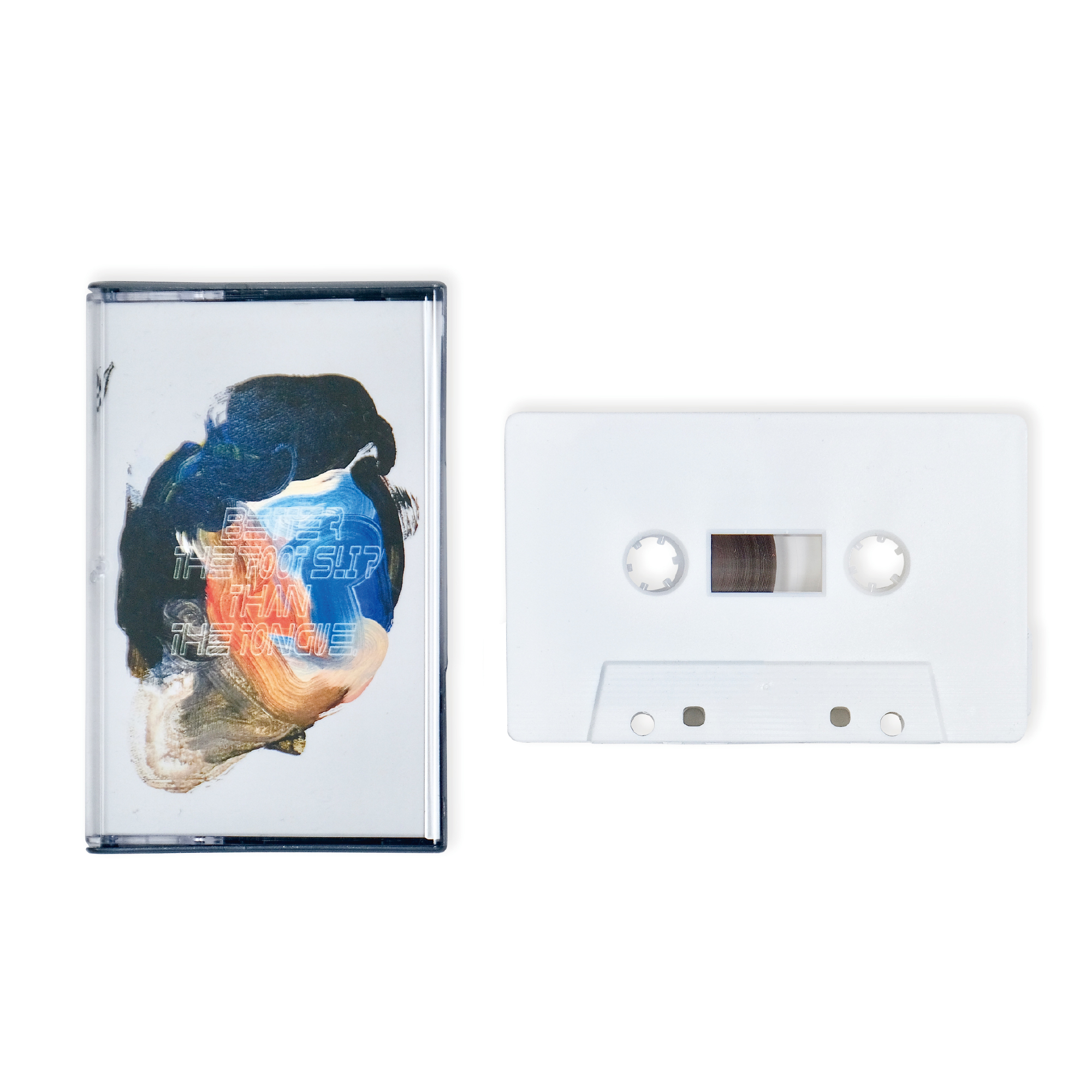 """AI.U """"BETTER THE FOOT STEP THAN THE TONGUE"""" / ONLY 50 LIMITED Cassette Tape"""