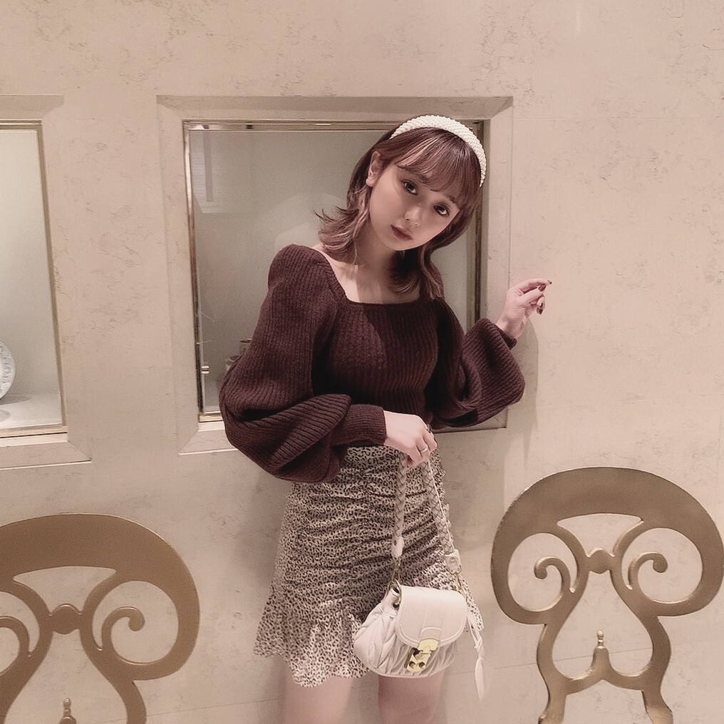 【meltie】mochi mochi knit