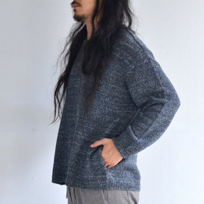 400003_Relax-fit Pullover(プルーン)