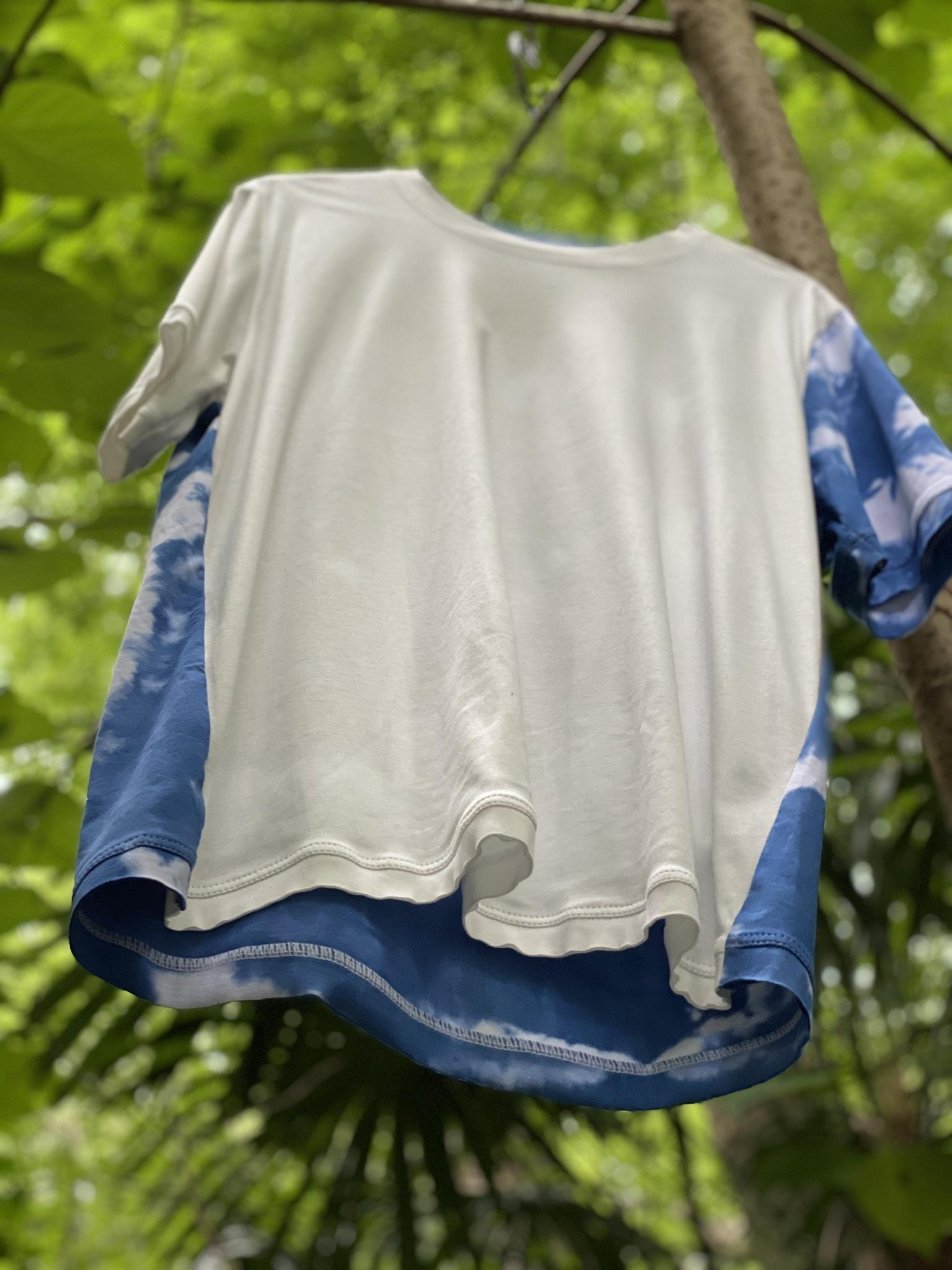 WEARABLE ART Tshirt [SHIBORI]MICHAIL GKINIS AOYAMA[送料/税込]