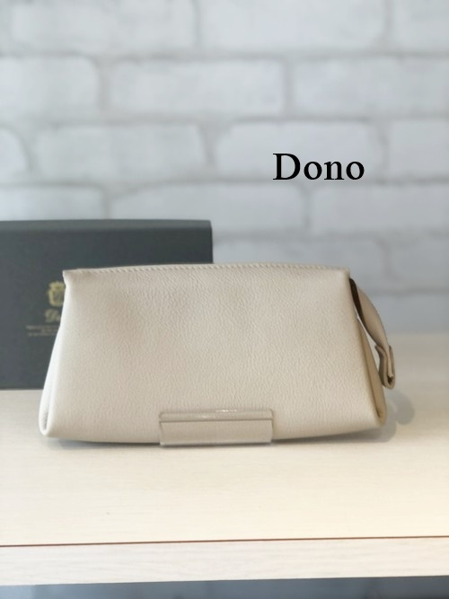 Dono(ドーノ)/ポーチウォレットL/01216(グレージュ)