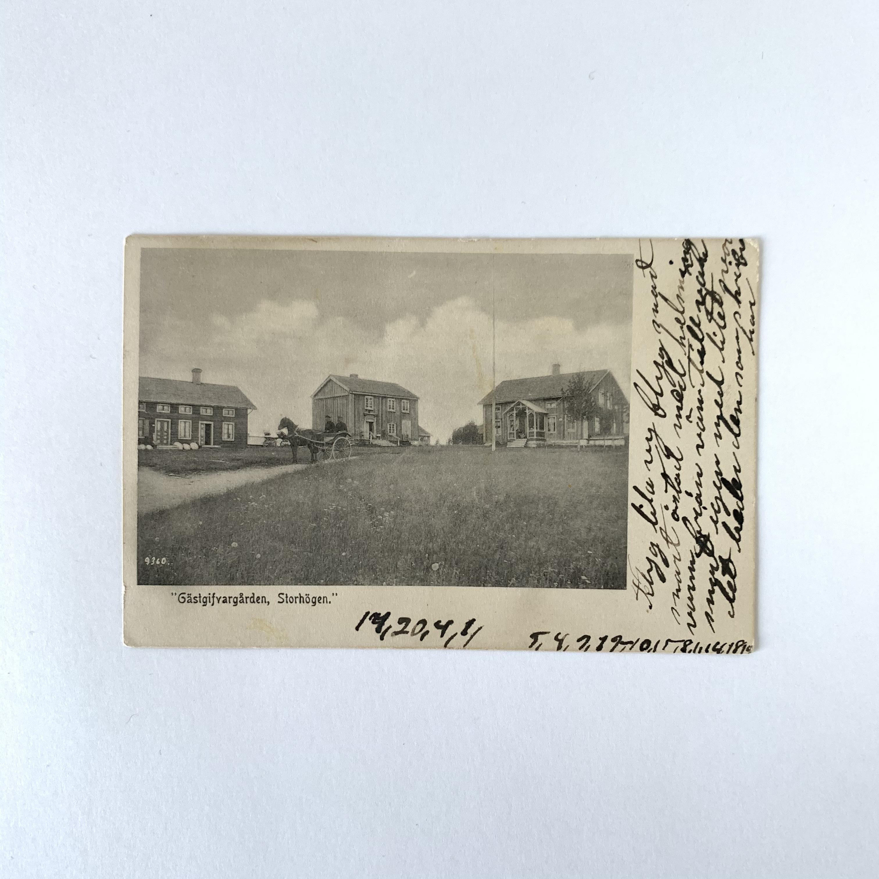 Antique Postcard No.025