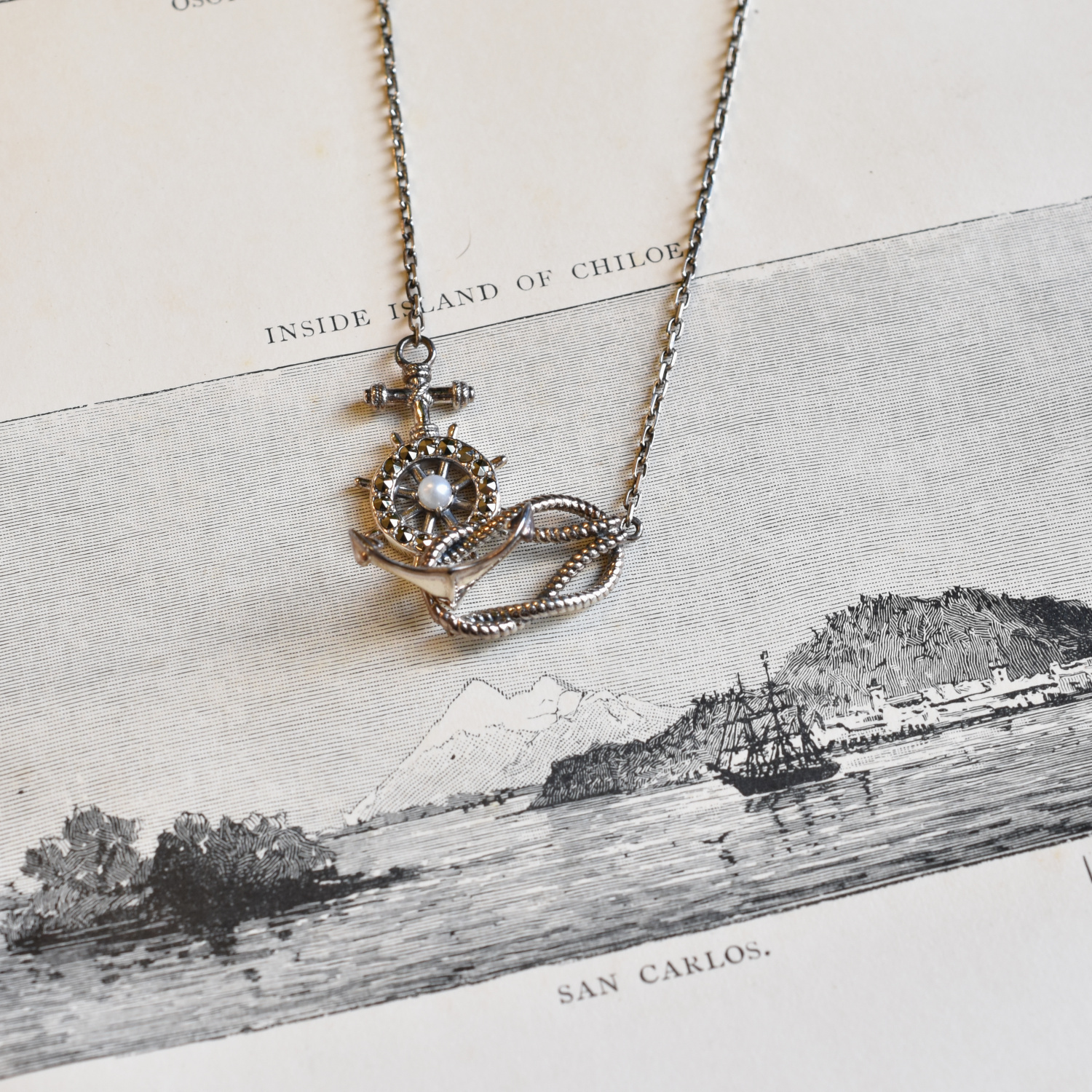Packaged collection  Rope Necklace