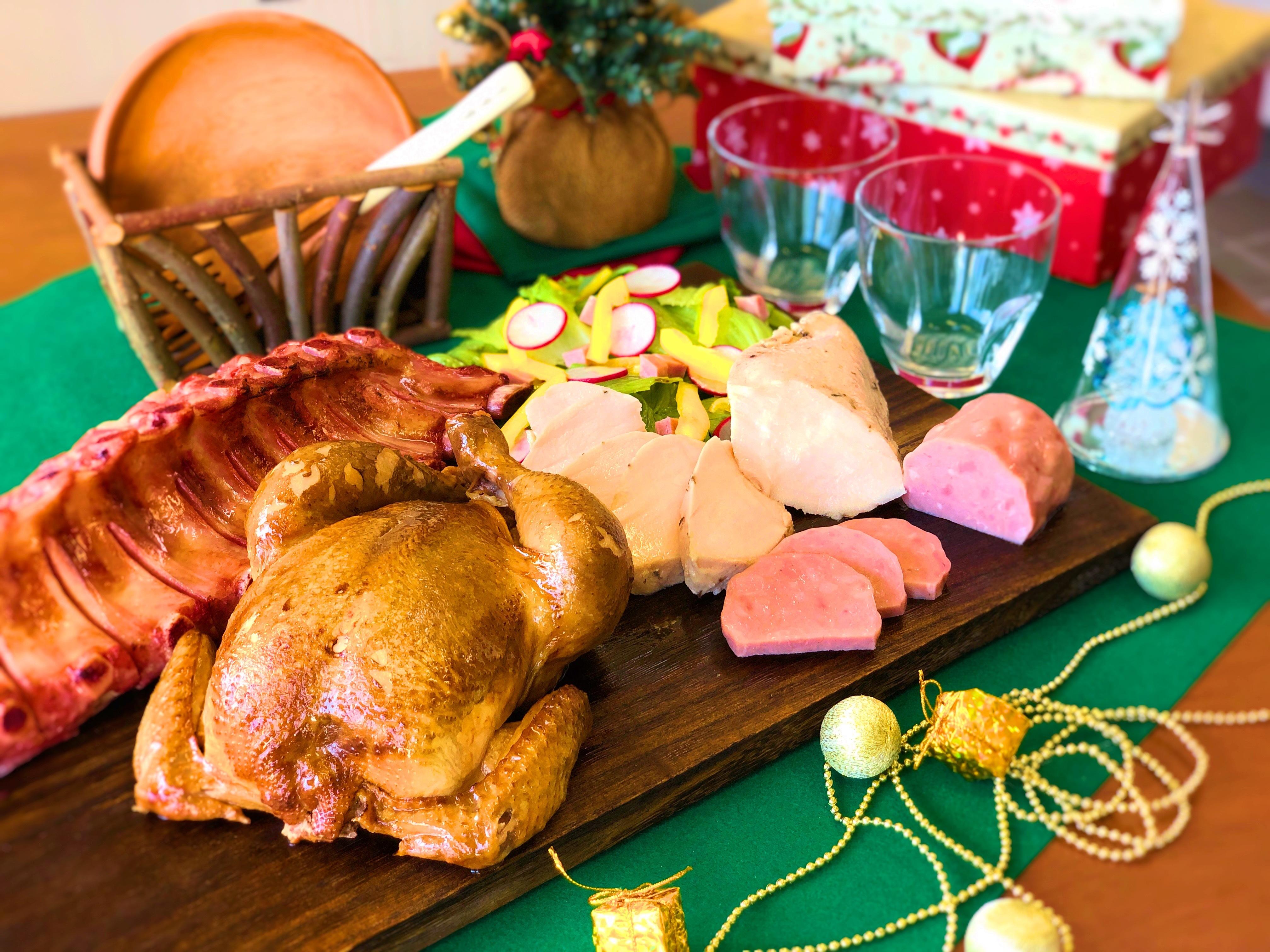 肉屋の本気のクリスマスセット