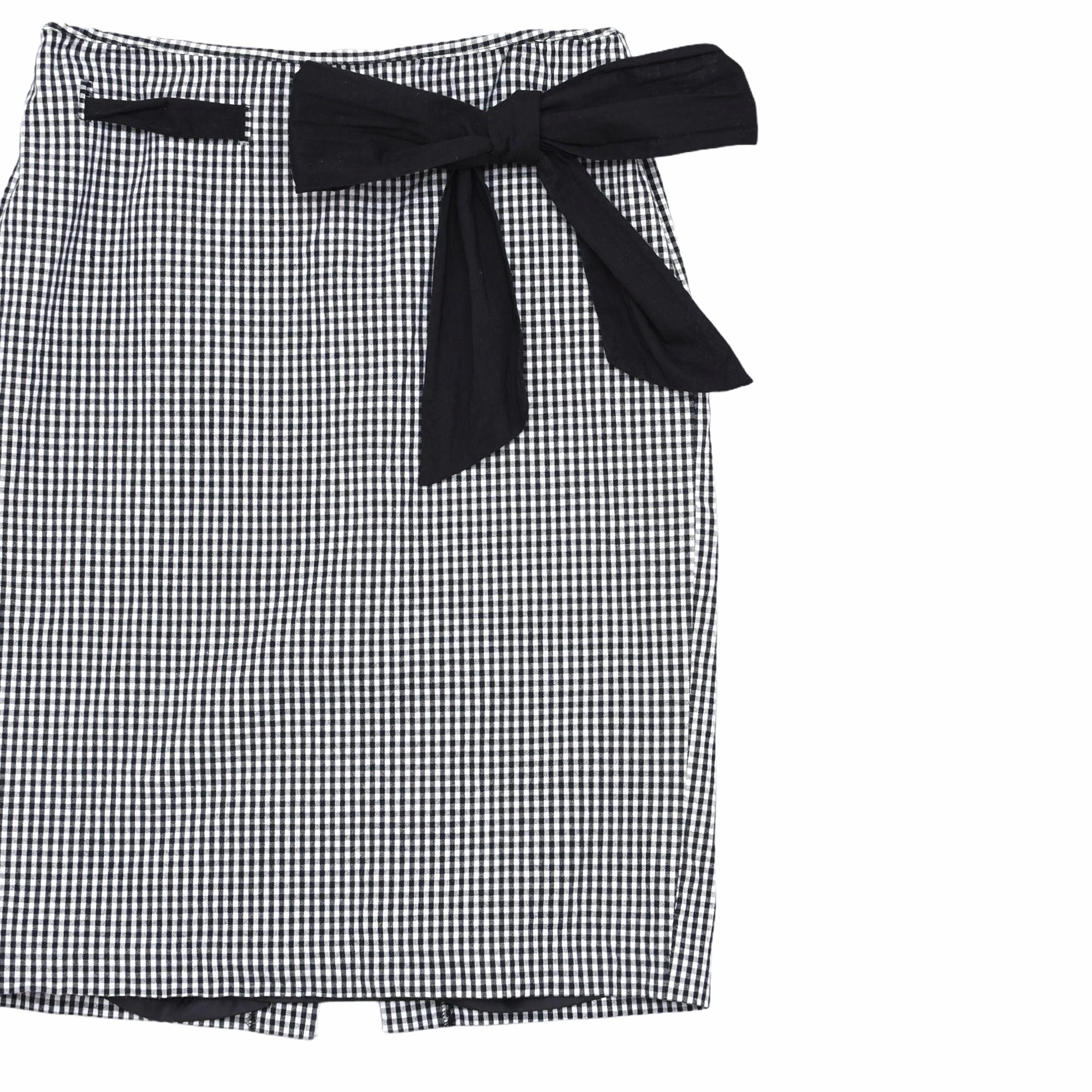 90's KENAR design gingham check skirt
