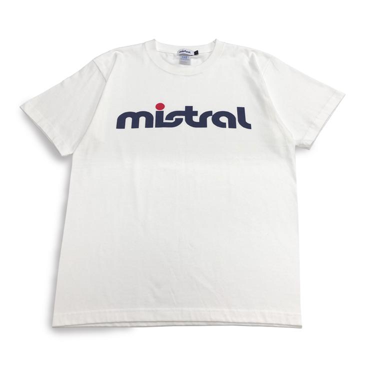 ミストラル ユニセックス【コットン半袖Tシャツ - ミストラル -】WHITE