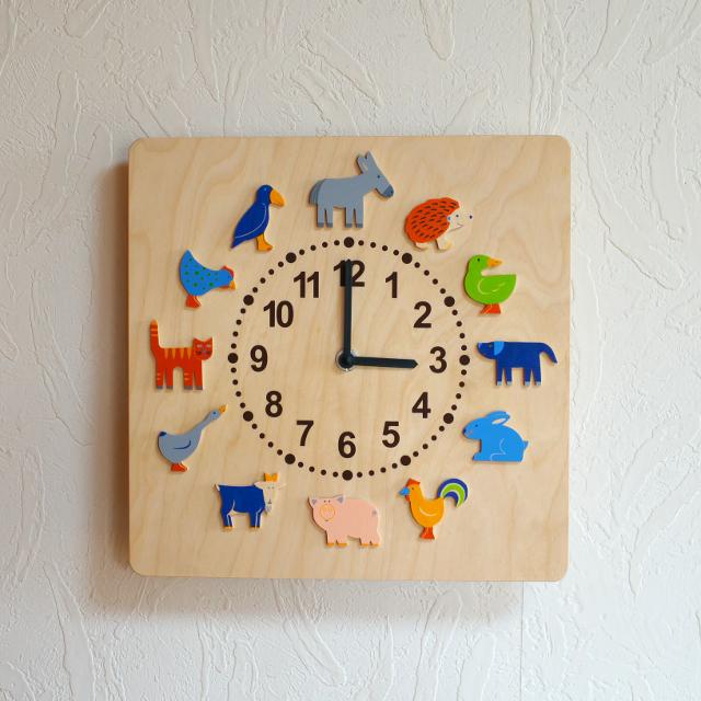 ヘラー時計 ヤーン動物