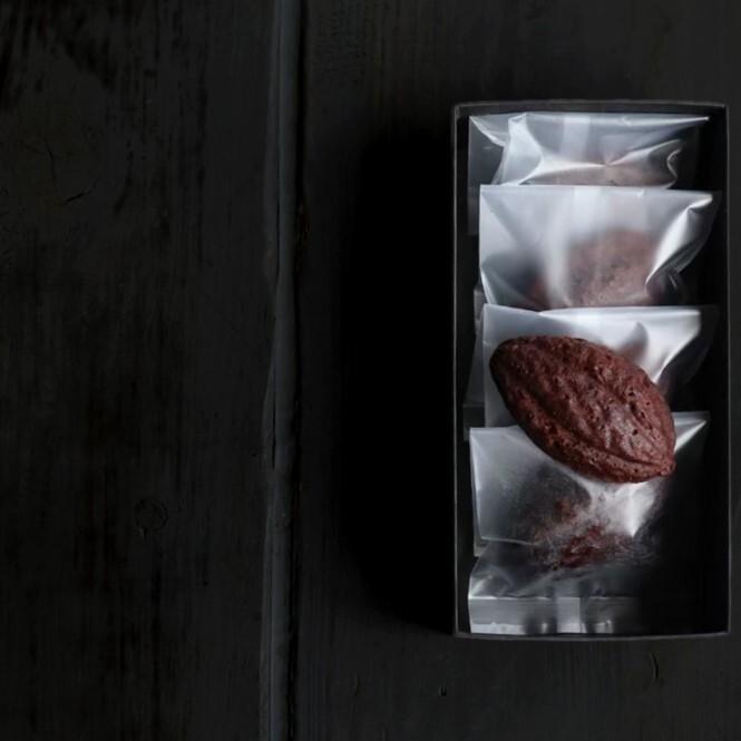 御米のマドレーヌ 柚子とショコラ 5個入 ギフト