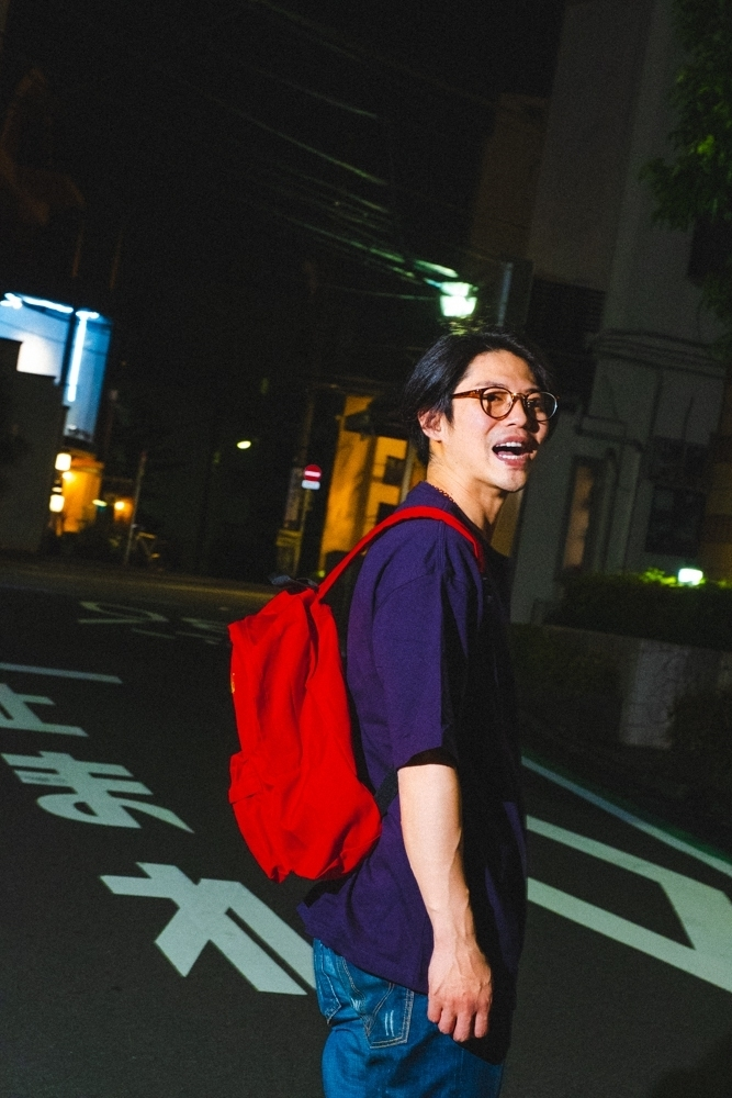 「aLife」BACKPACK / RED