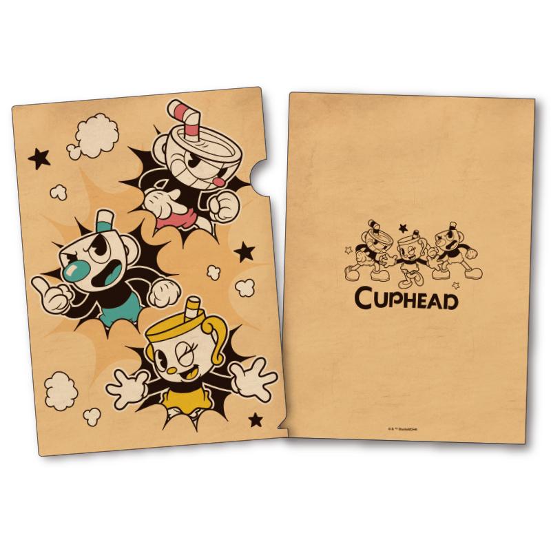 CUPHEAD A4クリアファイル (8) / エンスカイ