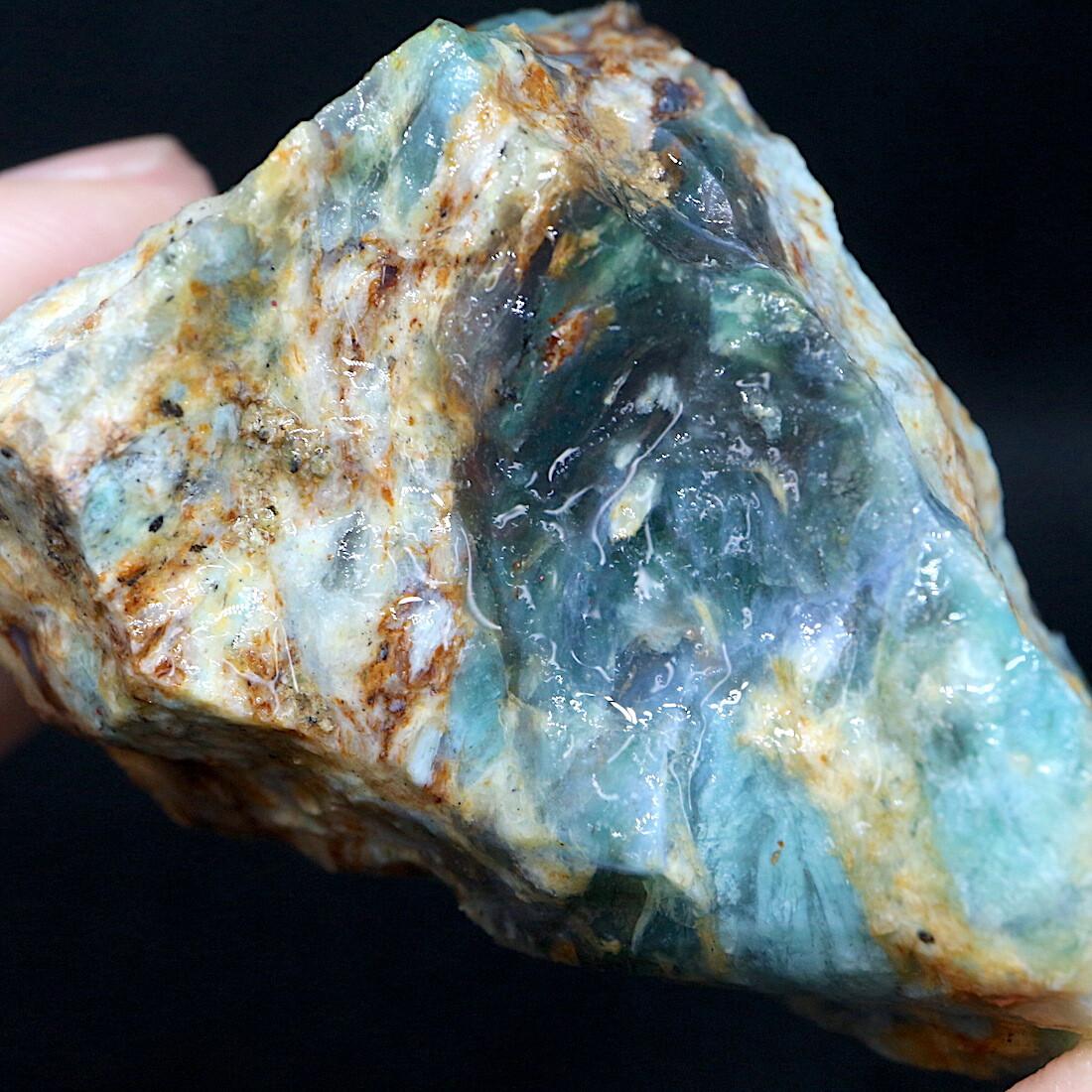 自主採掘!プラズマアゲート 65,6g AG156 原石 天然石 鉱物 パワーストーン