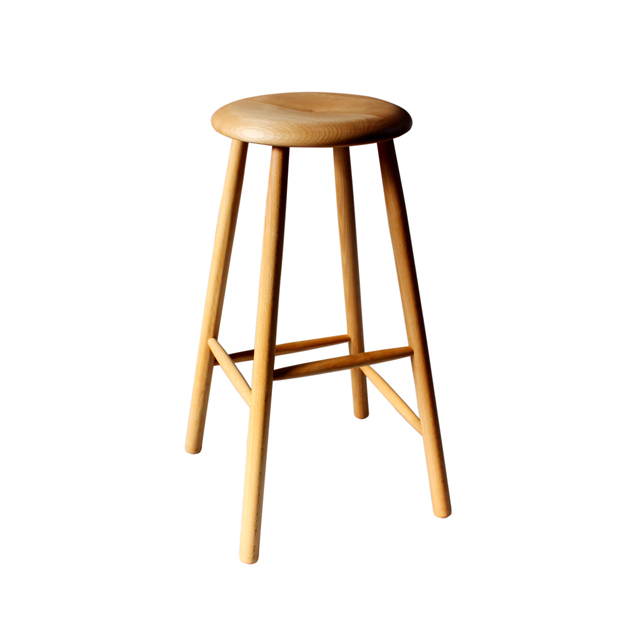 USED / NORDIC STOOL NATURAL LARGE / Oil Finish / Natural