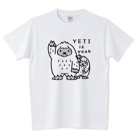 CT94 YETI is yeah*A / 5.6オンスTシャツ (Printstar)
