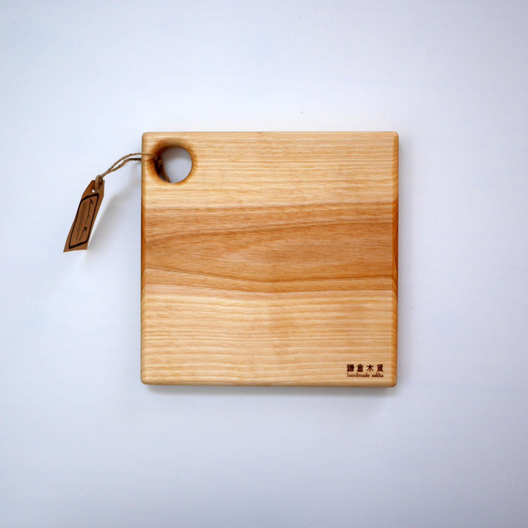 【現品】正方形のサービングボード(メジロカバ)