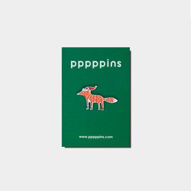 ピンバッチ-pppppins キツネ