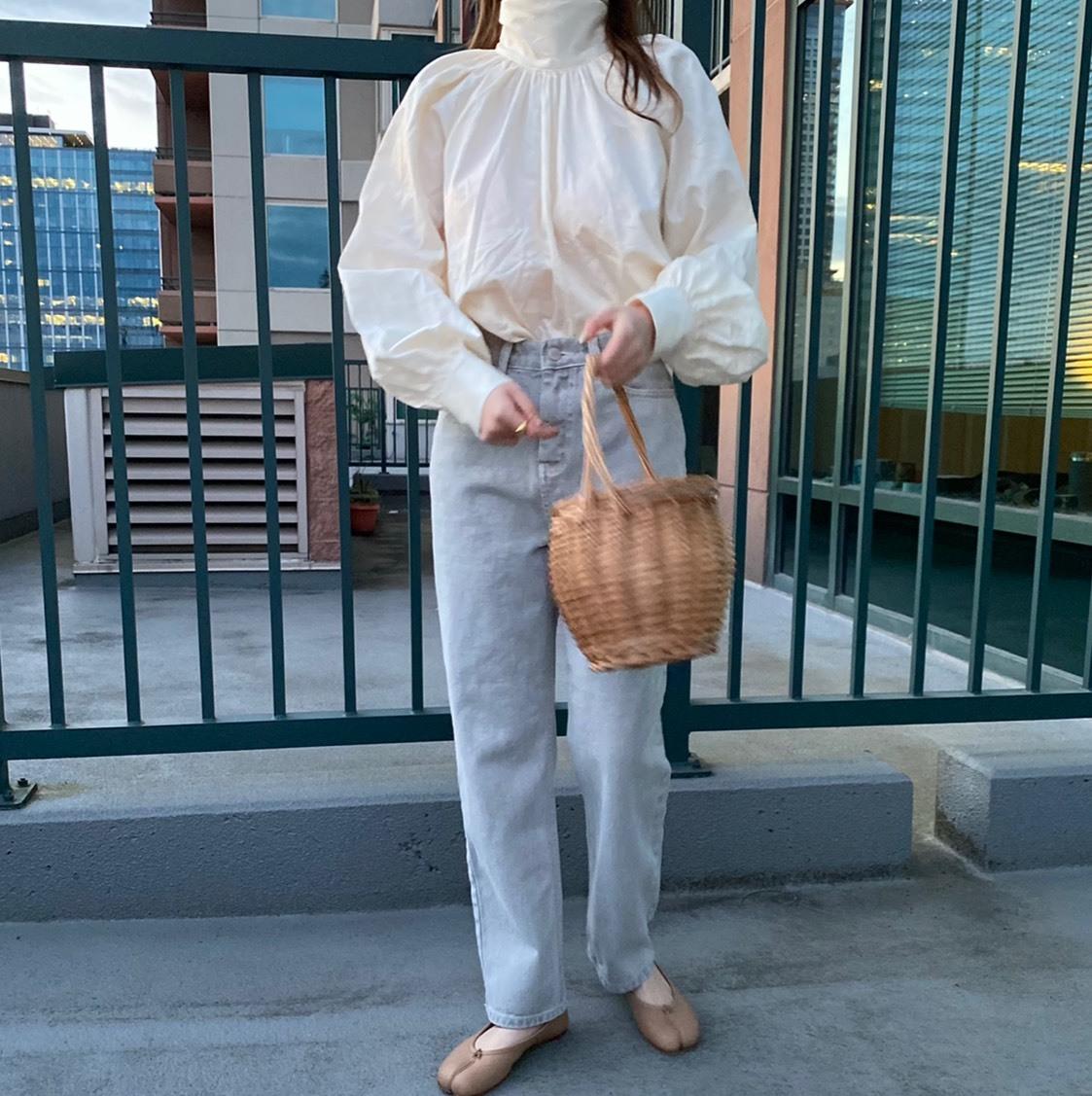 DAYNYC balloon sleeve blouse
