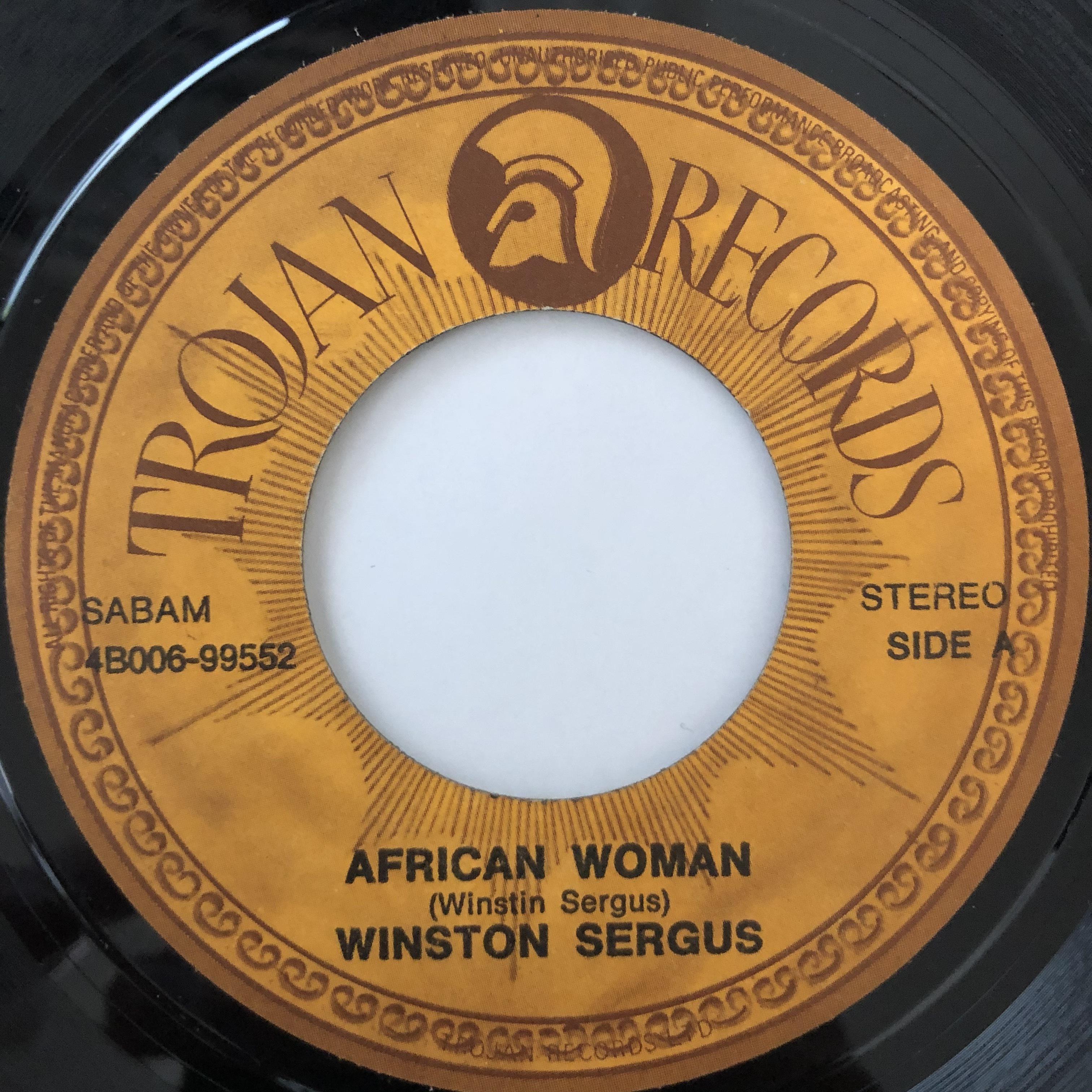 Winston Fergus - African Woman【7-20530】